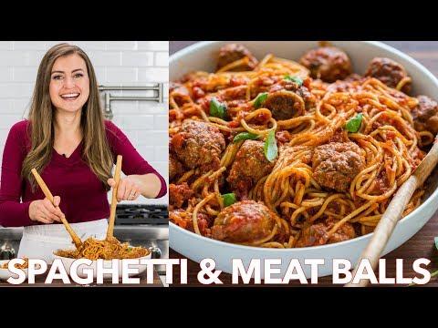 How To Make Spaghetti and Meatballs Recipe - Natasha's Kitchen - UC-pC1xsFPzcrL09DaW4jlBA