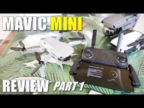 DJI Mavic MINI Review - Part 1 In-Depth [Unboxing, Updating, Setup, Pros & Cons] - UCVQWy-DTLpRqnuA17WZkjRQ