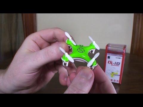 Cheerson - CX-10 (2014 World's Smallest Quadcopter) - Review and Flight - UCe7miXM-dRJs9nqaJ_7-Qww