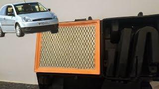 Sostituzione filtro aria Ford Fiesta 5