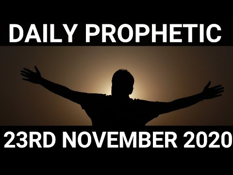 Daily Prophetic 23November 2020 11 of 12