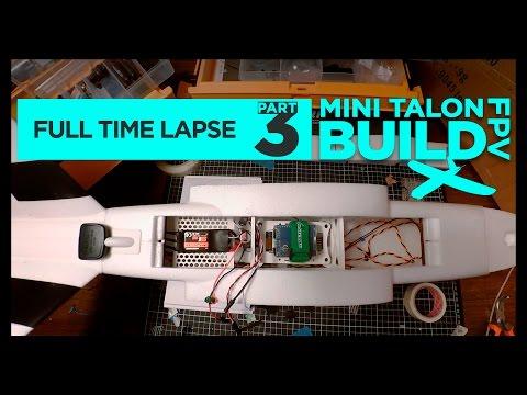 🛠️X-UAV MINI TALON FPV BUILD FULL TIME LAPSE PART 3 - UCK4GSxoDDEe8simcLdc6XZg