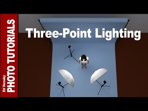 Three-Point Lighting for Portrait Photography - default
