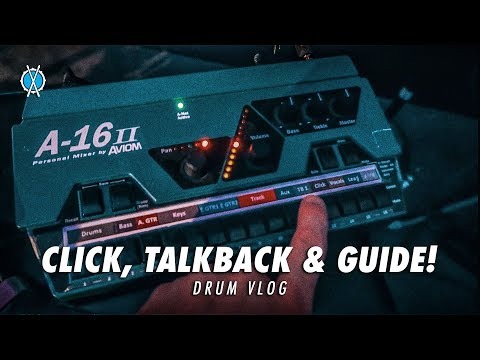 Drum Vlog // Click, Talkback, & Guide!
