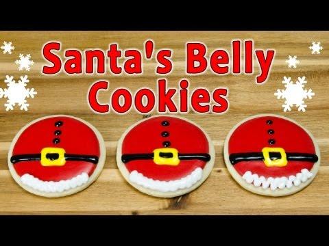 Santa's Belly Christmas Cookies by Cookies Cupcakes and Cardio - UCg-YSRB6TsIq-c5PUZ0F1Jg