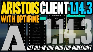 How to get Aristois with Optifine for Minecraft 1.14.3 - download & install Aristois 1.14.3