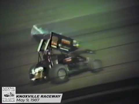 The first weekly event of the 1987 season kicks off with Dean Chadd and Jeff Tuttle picking up feature wins. - dirt track racing video image