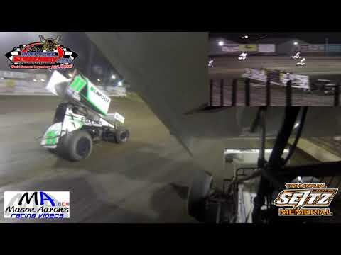#0 Nick Omdahl NOSA Sprint Car On-Board - dirt track racing video image