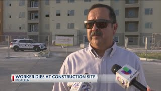 Worker dies at construction site