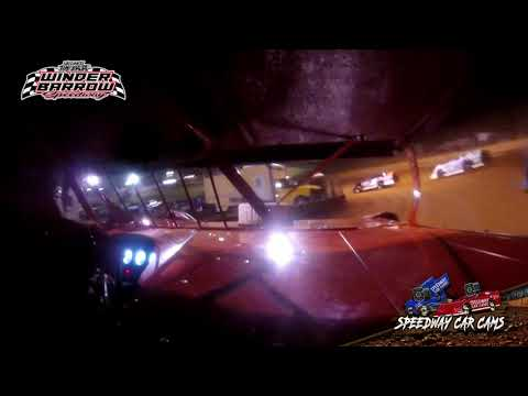 #11 Jimmy Johnson - Limited Late Model - 9-4-21 Winder Barrow Speedway - In-Car Camera - dirt track racing video image