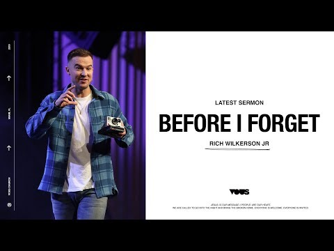 Rich Wilkerson Jr.  BC/AD: Before I Forget