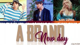 BTS (V & JHOPE) - 'A Brand New Day' ft. ZARA LARSSON Lyrics [Color Coded_Han_Rom_Eng]