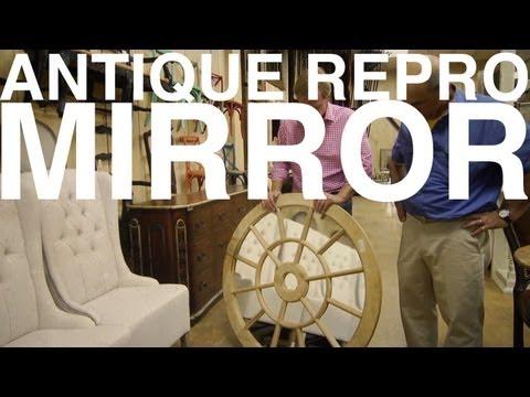 Antique Repro Mirror   The Garden Home Challenge With P. Allen Smith - UCDgr7nAbzYCkWxTsSJFcoGg