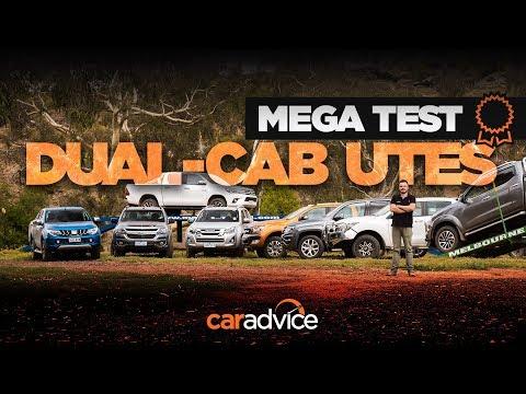 2018 UTE MEGA TEST REVIEW: HiLux v Ranger v D-MAX v Amarok v Triton v Navara v Colorado v BT-50 - UC7yn9vuYzXTWtL0KLu2rU2w