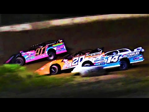 7-16-21 Late Model Feature Winston Speedway - dirt track racing video image
