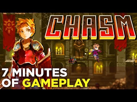 7 Minutes of New CHASM Gameplay: Castlevania-Inspired Platformer @ PAX West 2016 - default