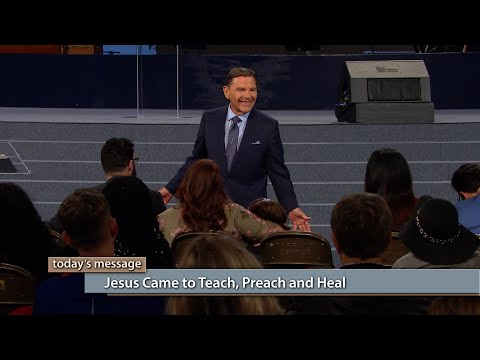 Jesus Came to Teach, Preach and Heal
