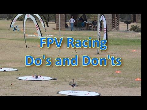 FPV Racing Do's and Don'ts for pilots and Organizers - default