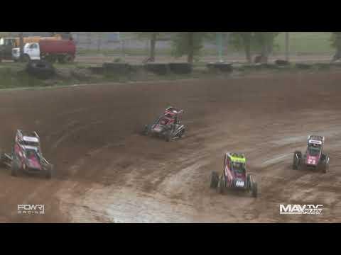 National Midget League at Charleston Speedway - 6/16/2021 - dirt track racing video image