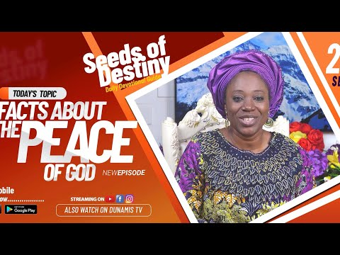 Dr Becky Paul-Enenche - SEEDS OF DESTINY - SATURDAY SEPTEMBER 26, 2020