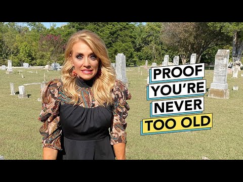 Forget your Dream or Forget Your Age? Proof You're Never Too Old