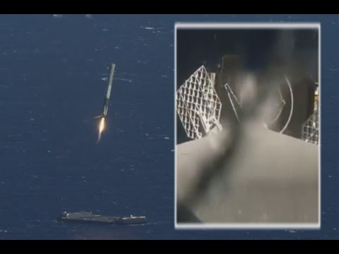 SpaceX Rocket Landing At Sea Captured By On-Board Camera, Chase Plane   Video - UCVTomc35agH1SM6kCKzwW_g