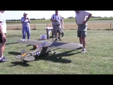 Balsa USA 1/4 Scale Cub Aircraft modified into Army L4 Grasshopper - UCMoOwxhSKt-7DGguHCuoSsw