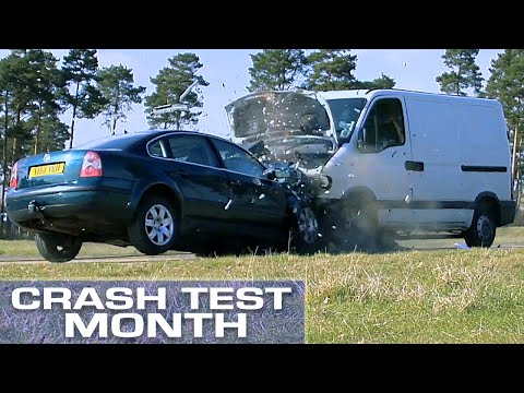 Crash Test Month: Van vs. Car