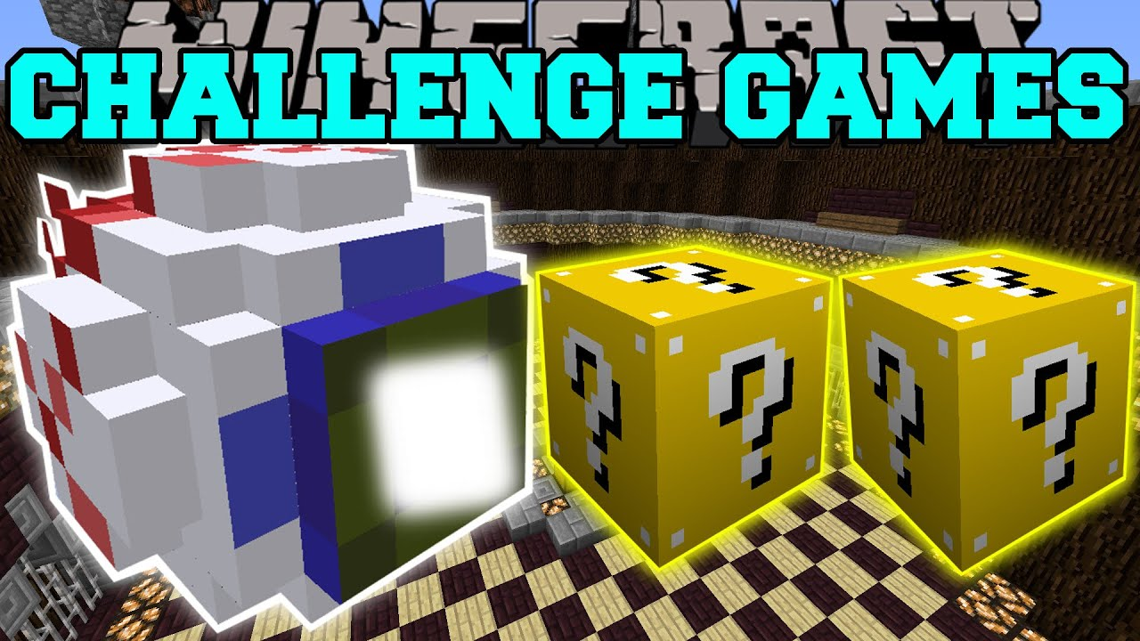 Pat and jen challenge games - Pat and jen lucky block challenge games ...