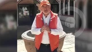 Abuchean a Carlos Mesa cuando hacía campaña en Potosí