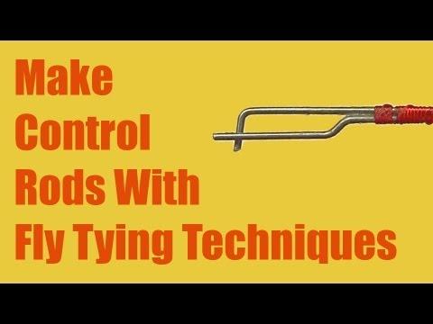 Make an RC plane control rod using fly tying technique - UCYZdgiEIDuwqPVes1ZqU_Iw