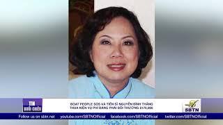 BP SOSvàtiến sĩNguyễn Đình Thắngthua kiện vụ phỉ báng