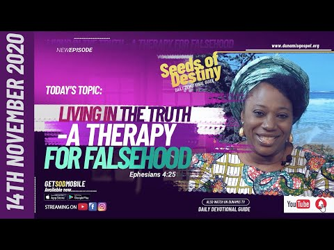 Dr Becky Paul-Enenche - SEEDS OF DESTINY - SATURDAY NOVEMBER 14, 2020