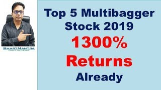 Top Best Multibagger Stocks to buy 2019
