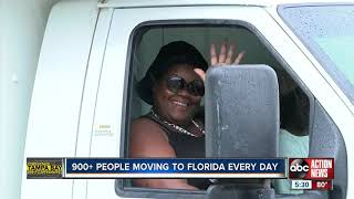 Economists: 900+ people are moving to Florida every day