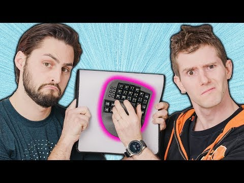 This KEYBOARD has a BUILT IN MOUSE! - UCXuqSBlHAE6Xw-yeJA0Tunw