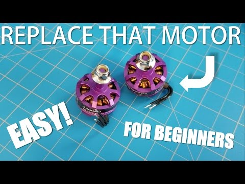 Replacing a Race Drone Motor! - Eachine Wizard X220   Fix & InFlight Test   The Fly Guy - UCUkQwbHSk-5AKb_9AWdmG1g