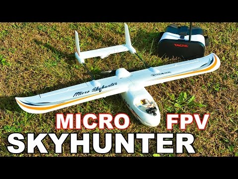 Eachine Micro SkyHunter Fixed Wing FPV Under $100! Review - TheRcSaylors - UCYWhRC3xtD_acDIZdr53huA
