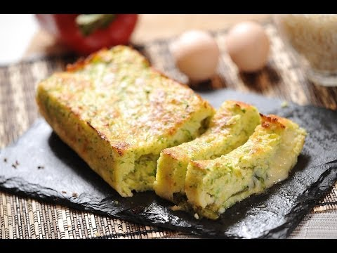 Pastel de calabacitas - Zucchini cake - Recetas de vgetales - UCvg_5WAbGznrT5qMZjaXFGA