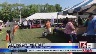 Fayetteville event helps homeless veterans