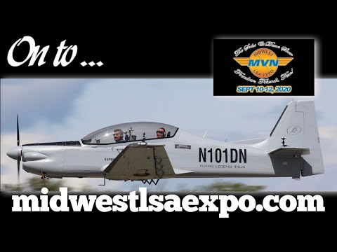 Midwest LSA Expo, Midwest Light Sport Aircraft Expo 2020, Mt. Vernon Illinois, 2019 show review.