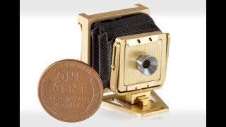 World's smallest camera  CCTV English