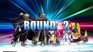 Team NESTS Bosses vs Team Magical Nanoha MUGEN BATTLE