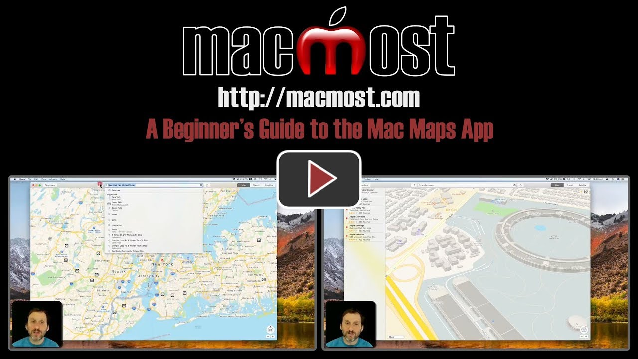 A beginners guide to the mac maps app macmost gumiabroncs Gallery
