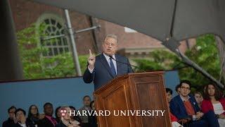 Former Vice President Al Gore addresses Harvard Class of 2019 | Harvard Commencement 2019