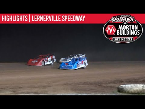 World of Outlaws Morton Building Late Models at Lernerville Speedway June 26, 2021   HIGHLIGHTS - dirt track racing video image
