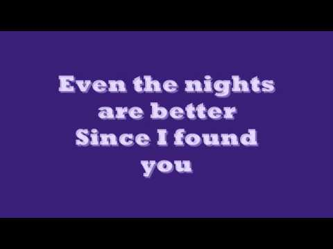 Air Suply Even The Nights Are Better Lyrics ( on screen) - default