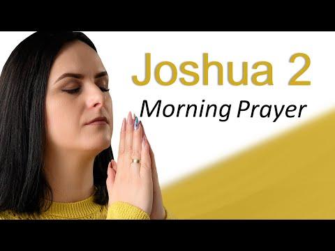 RAHAB, A WOMAN OF GREAT FAITH - JOSHUA 2 - MORNING PRAYER