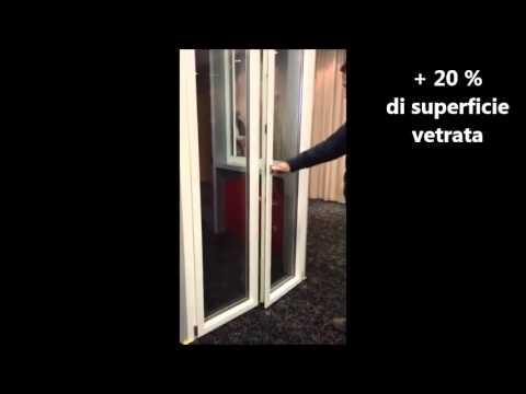 NOVITA' SERRAMENTI IN PVC CON + 20% DI SUPERFICIE VETRATA  - Video - Chiaravalli dal 1908