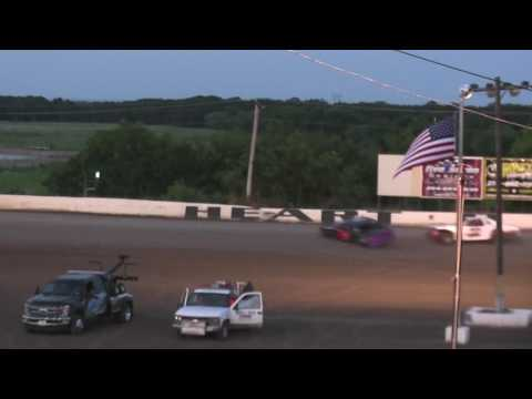 HOT Factory Wreck 06 23 17 - dirt track racing video image
